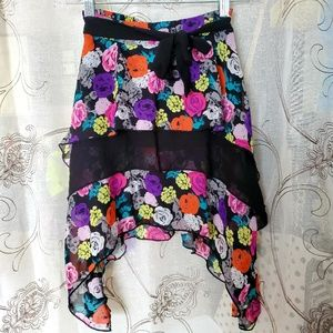 Girls Disney D-Signed High Low Skirt sz 7/8